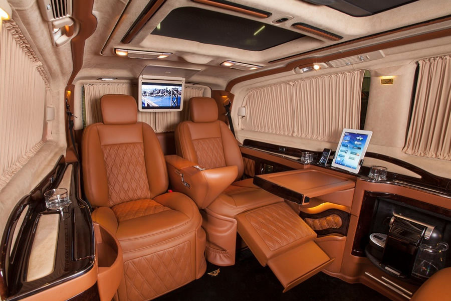 Luxury Van Seats